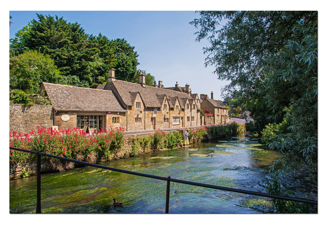 Bibury is situated in the Gloucestershire Cotswolds on the River Coln 9 miles from the market town of Burford.