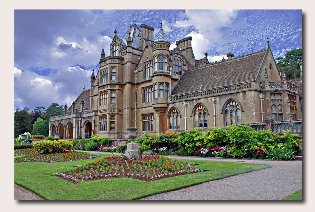 Tyntesfield is a Victorian Gothic Revival estate near Wraxall, North Somerset, England, in the Vale of Nailsea, seven miles from Bristol.