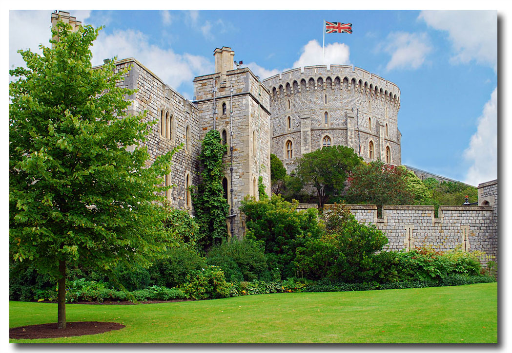 Windsor Castle - The oldest and largest inhabited castle in the world and The Queen's favourite weekend home - Click to Download...