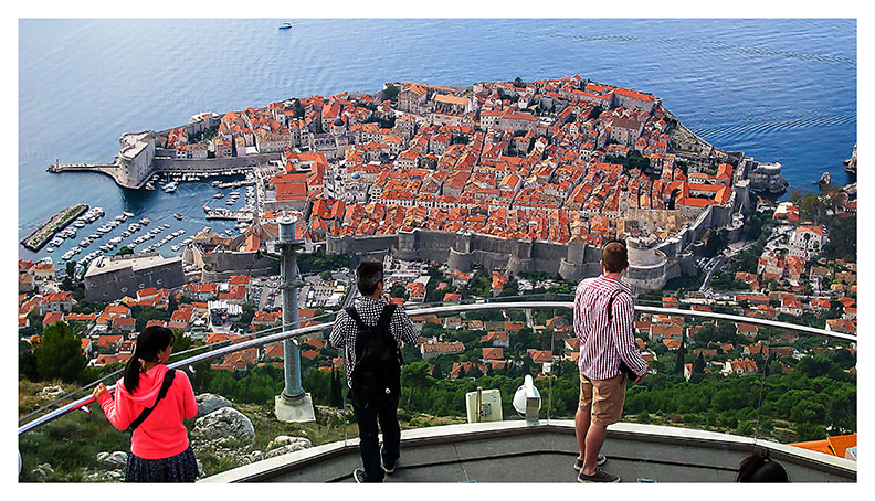 Dubrovnik is a Croatian city on the Adriatic Sea, in the region of Dalmatia... Click to view...